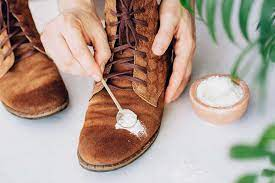 remove stains from suede shoes clothes