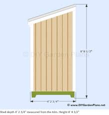 lean to shed plans 009