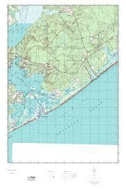 mytopo new river inlet north carolina usgs quad topo map