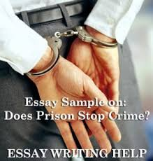 essay sample on does prison stop crime the help of theoretical advice and materials we are going to be able to successfully dissect the issues which are presented in both of the articles