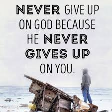 God Quotes Best 48 Reasons God Doesn't Give Up On Us ChristianQuotes