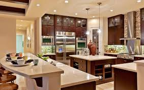 image gallery model home kitchen