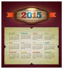 Calendar Format 2015 2015 Calendar Vector Design Template Vectors Stock In Format