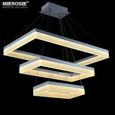 led pendant lighting fixtures. Acrylic LED Pendant Light Modern Rectangle Design Black Suspension Fixture Gold Dining Room Lamp MD5062 Led Lighting Fixtures