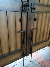 decorative garage door hardware with coastal bronze installed full image for garage door slide lock