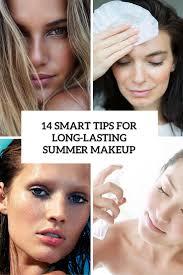14 smart tips for long lasting summer makeup
