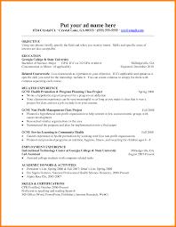 Student Resume Format For Freshers Bongdaao Com
