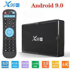 X96H IP TV Smart TV box Android 9.0 mini X96 4K Set top box 4GB 64GB  Allwinner H603 2.4G/5G Wifi netflix 2GB 16GB Media player|Set-top Boxes