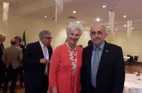"""Jan Skora on Twitter: """"With Myra Freeman, the 29th and first female  Lieutenant Governor of Nova Scotia (2000 - 2006) celebrating the 72nd  anniversary of the Italian Republic… https://t.co/Po71MSkCfp"""""""