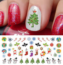 Christmas Nail Decals Set #6 – Moon Sugar Decals