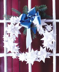 Paper Decorations Christmas 55 Diy Christmas Wreaths How To Make A Holiday Wreath Craft