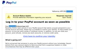 Tricky Don't Page This One com Extremely Scam Komando Paypal For Phishing Fall