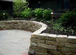 Small Picture Lannon stone retaining wall dry laid Landscape Walls