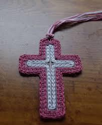 Crochet Cross Pattern Magnificent Plastic Canvas Cross Bookmark Thread Crochet Pattern Free Crochet
