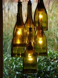 After the Party: 5 Ways to Upcycle Wine Bottles. Wine Bottle ChandelierBottle  LightsMake ...