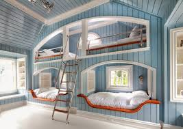 funky teenage bedroom furniture. Bedroom, Astounding Cool Teenage Girl Rooms Bedroom Furniture Blue Wooden With Bunk Funky