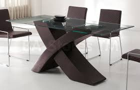 Easily Dining Room Decor: Sophisticated Glass Dining Table Base Amazon Com  See Only Tables from