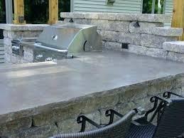 outdoor countertops material kitchen materials outdoor countertops material