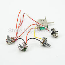 5 wire harness promotion shop for promotional 5 wire harness on m126 guitar wiring harness pickup 1v2t 5 way switch 500k pots jack