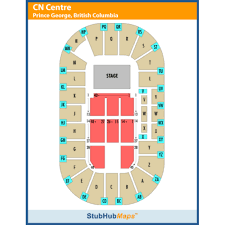 Cn Center Seating Chart Cn Centre Events And Concerts In Prince George Cn Centre