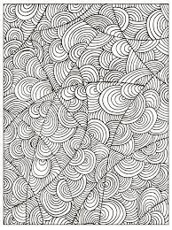 Pagina Adulta Non Colorata Del Libro Da Colorare Del Cerchio