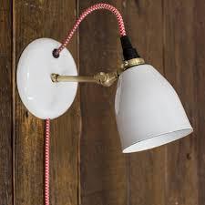 plugin wall light hostingrq com lovell porcelain plug in sconce modern sconce barn light electric 600 x 600