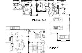 house plans to add on later expandable floor phased stage build 3 bedroom 4