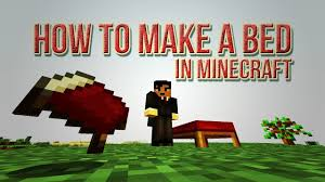 How To Make A Bed In Minecraft Wood Wool Crafting Recipe