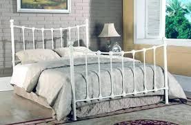 white metal bed frame king – bristoltogether.info