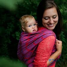 Woven Wrap, Baby Wrap, Baby Carrier, Beloved, Tulip Fields, Size 6 ...
