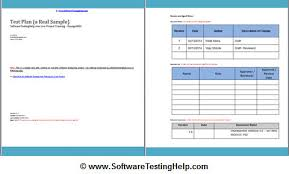 test plan template excel how to write a test plan document from scratch a real test plan