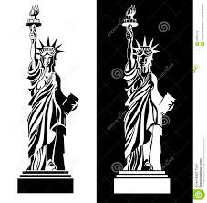 символ сша статуи свободы чертежа иллюстрация вектора иллюстрации