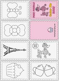 Mini Coloring Pages Jabn Free Printable Mini Coloring Books Littlest