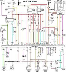fuel injector wiring diagram where are the er points in the fuel Ford Explorer Wiring Schematic 60 1 mustang faq wiring engine info com mustang tech engine images 94 95 5 0 eec wiring 2004 Ford Explorer Wiring Schematic