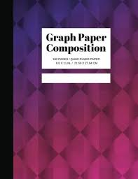 Graph Paper Composition Grid Paper Notebook Quad Ruled 100 Sheets Graph Paper Large 8 5 X 11 Geometric Patterns Volume 5