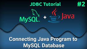 How To Design A Java Program 2 Connecting Java Program To Mysql Database