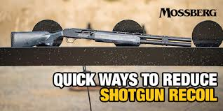 Chuck Hawks Recoil Chart Mossberg Blog Quick Ways To Reduce Shotgun Recoil O F