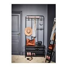 Coat Racks With Storage Bench PINNIG Coat rack with shoe storage bench IKEA 32