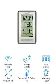 la crosse technology thermometer best outdoor thermometers