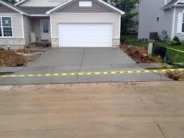 Concrete Driveway Thickness Design Pouring Concrete Driveways Building Dreams