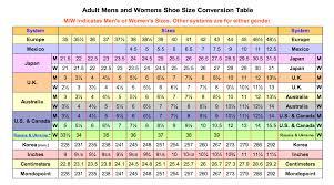 Singapore Size Chart 75 Specific Shoe Size Chart Singapore