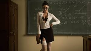 Sexy teacher strips for class