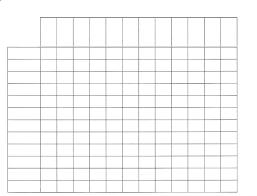 blank chart template for teachers Dolapmagnetbandco