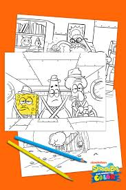Spongebob You Bring The Coloring Pages Nickelodeon Parents