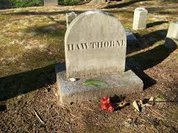 nathaniel hawthorne timeline of important dates he is buried on