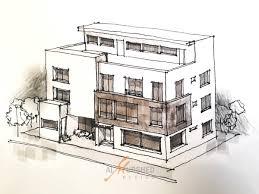 Villa Sketch Design