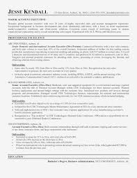 Sample Resume Account Executive Sample Resume For High School Student Archives Spacelawyer Co New