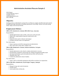 11 Administrative Assistant Objective Examples Time Table Chart