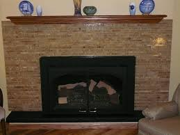 glass tile fireplace surround pictures round ideas