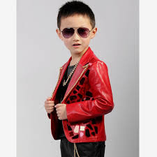 Design Jackets For Boys Us 56 35 37 Off Baby Boys Clothes 2019 New Fashion Children Pu Leather Jacket Sequins Zipper Design Stage Dance Clothes Modis Kids Outwear Y1231 In